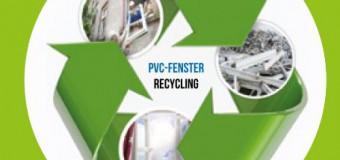 Fenster aus PVC Recyklat